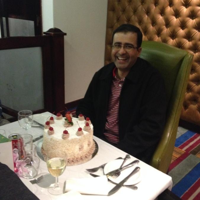 Happy birthday Chandra!
