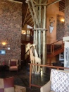 Tau Lodge reception area
