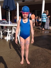 Winston Manor Stingray's - First Swim Meet (and Kelsey sent me a video of her swim!)